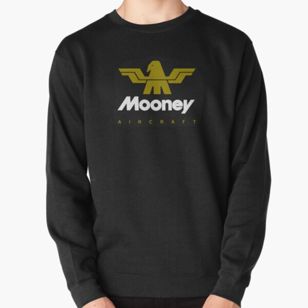 Mooney Vintage Aircraft USA Pullover Sweatshirt