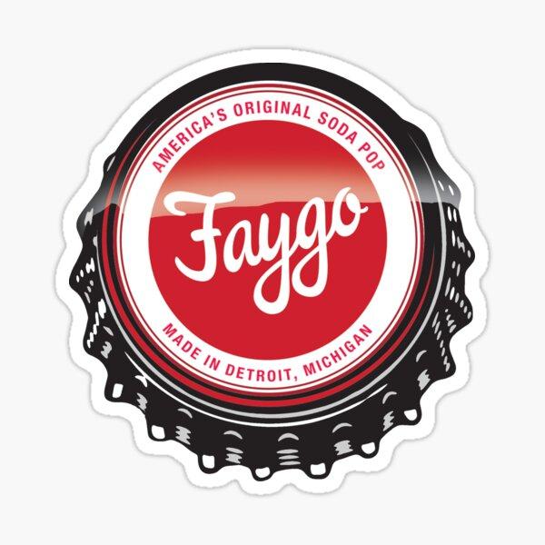Faygo soda Detroit Sticker