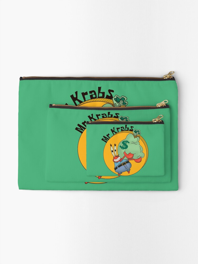 Alternate view of Did you know crabs love money! Zipper Pouch