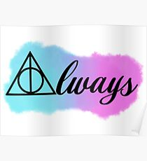 Always watercolour Poster