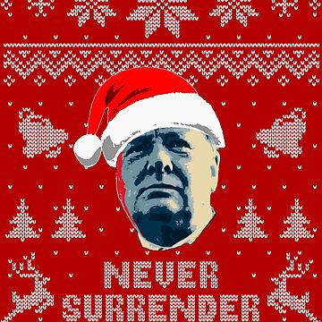 Never Surrender Ugly Sweater by idaspark