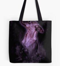 Smokey Dog Tote Bag
