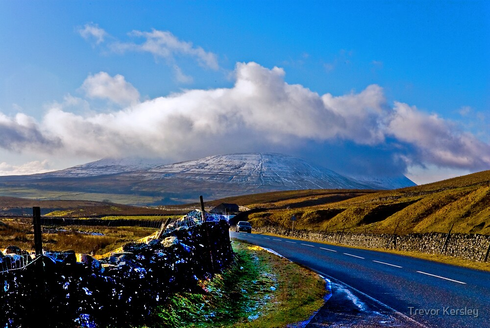 The Road to Whernside by Trevor Kersley