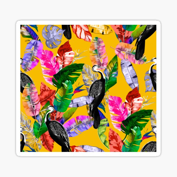 Tropical Garden Sticker