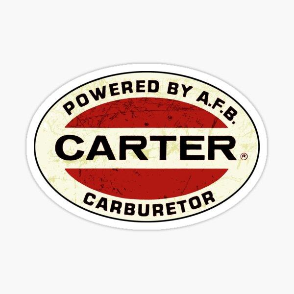 Carter Carburetors USA Sticker