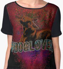 #doglover Chiffon Top