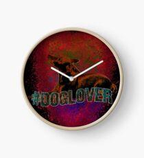 #doglover Clock