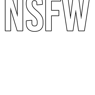 NSFW slogan by Sandyram