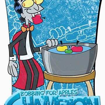Halloween T-Shirt 2009 - Bobbing for Apples Champion by Sketchaholic