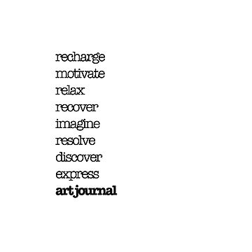 Recharge, relax, recover. Art journal. by KoreSage
