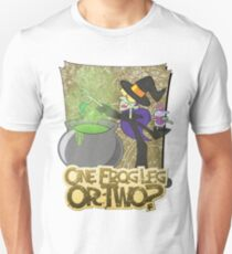 Halloween T-Shirt 2009 - One Frog Leg or Two Unisex T-Shirt