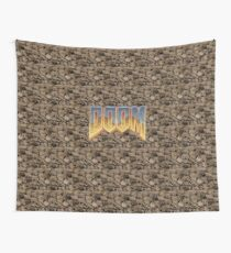 DOOM HELL FACES Wall Tapestry