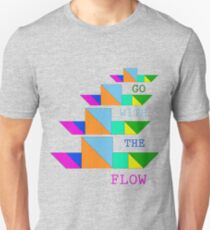 Go with the flow (ship) Unisex T-Shirt