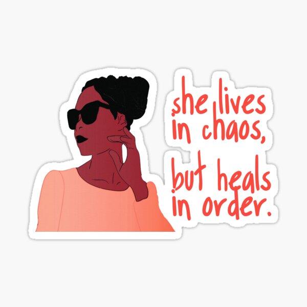 She Lives, She Heals  Sticker