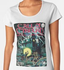 Call of Cthulhu 1st Edition Cover Premium Scoop T-Shirt