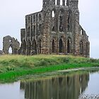 Whitby Abbey by Ludwig Wagner
