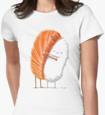 food art Women's Fitted T-Shirt