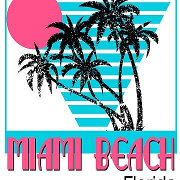 Miami Beach Florida Great Fashion T-Shirt by andalit