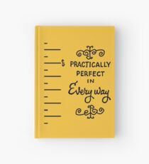 practically perfect Hardcover Journal