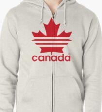 Canada Sport Maple Leaf Zipped Hoodie
