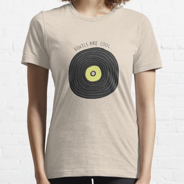 Vinyls are Cool (Grey) Essential T-Shirt