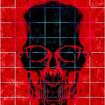 Fancy Skull Head (ALTERNATE VERSION) by Ikigai-PLUS