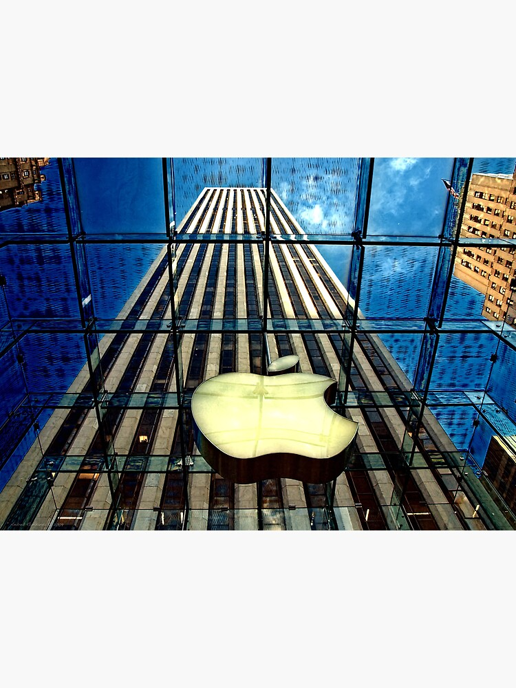 View from the Apple store, NYC by rapis60