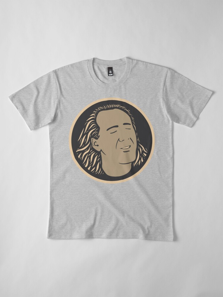 Alternative Ansicht von Con Air Nicolas Cage Premium T-Shirt