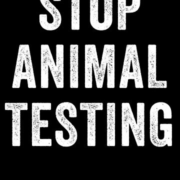 Stop Animal Testing Statement by with-care