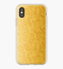 Pattern Ornament Gold iPhone Case