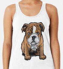 Bulldog Pup Women's Tank Top