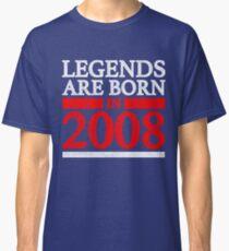 2008 birthday vintage retro Classic T-Shirt