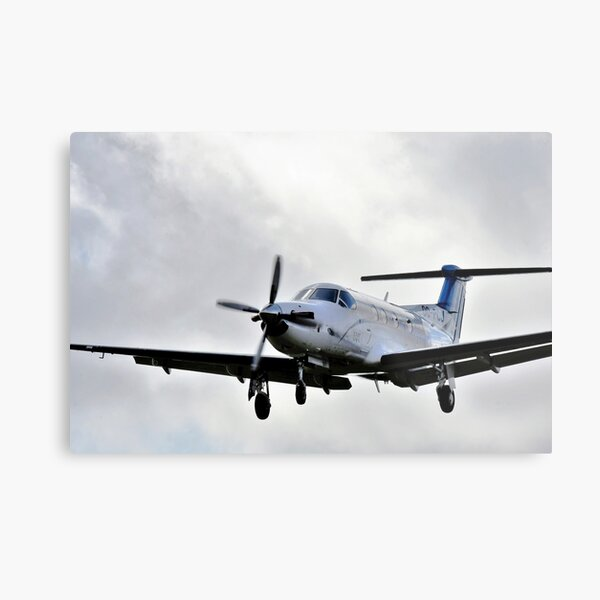 Pilatus PC12  Metal Print