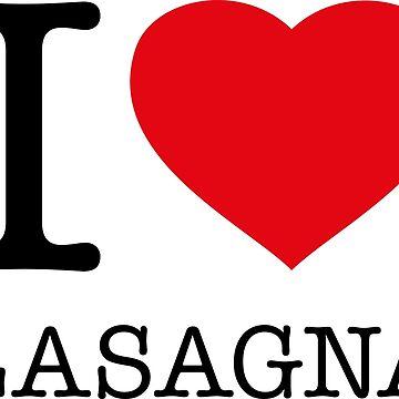 I ♥ LASAGNA by eyesblau