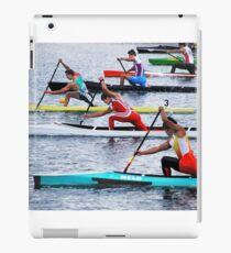 Rowing Race iPad Case/Skin