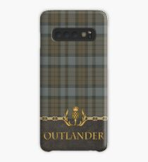 TARTAN LEATHER OUTLANDER Case/Skin for Samsung Galaxy