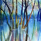 Blue Reflections by Glenn Marshall