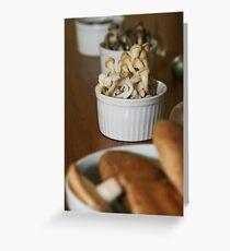 mushrooms_mix Greeting Card