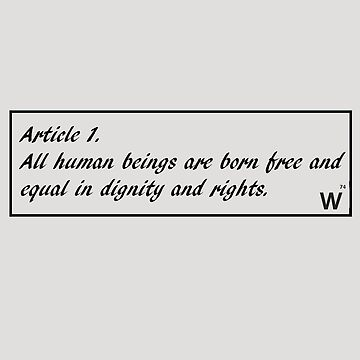 Human Rights by wolframico