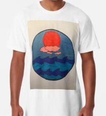 Saturated Sunset Long T-Shirt