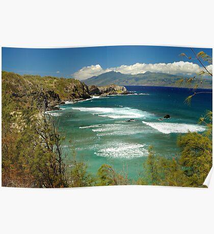 coast of Maui Poster