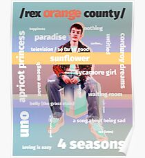 rex orange county medley  Poster