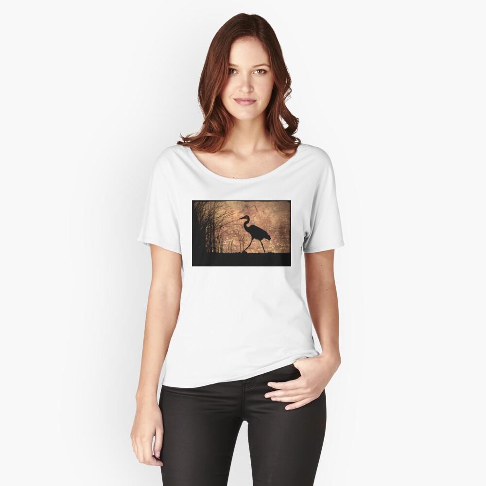Bayou Walk Women's Relaxed Fit T-Shirt Front