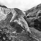 Glacier ice by zumi