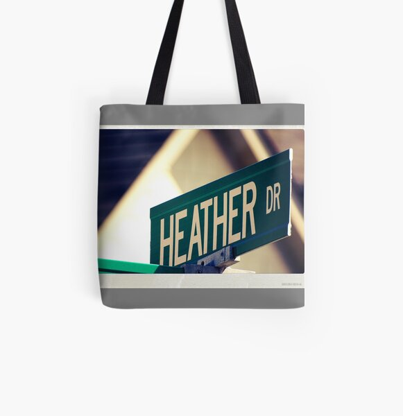 Heather  All Over Print Tote Bag