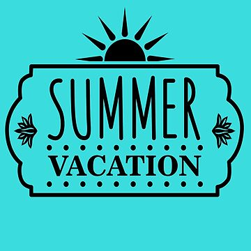 Summer Vacation Great Fashion T-Shirt by andalit