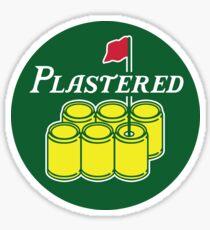 Plastered 2 Sticker