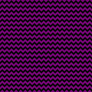 Zombie Purple and Black Halloween Chevron Zig Zag Stripes  by Creepyhollow