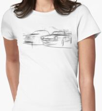 Timeless Fiats  Women's Fitted T-Shirt
