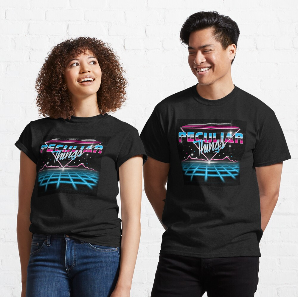 Peculiar Things 80s Classic T-Shirt